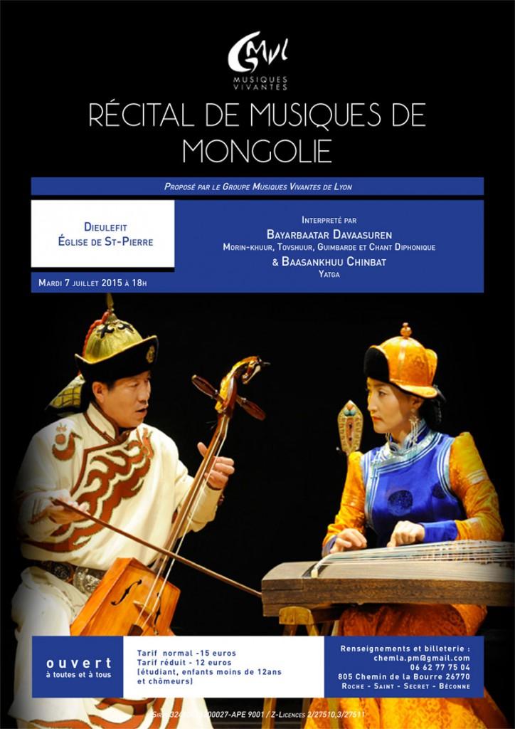 Recital Dieulefit Musique de Mongolie