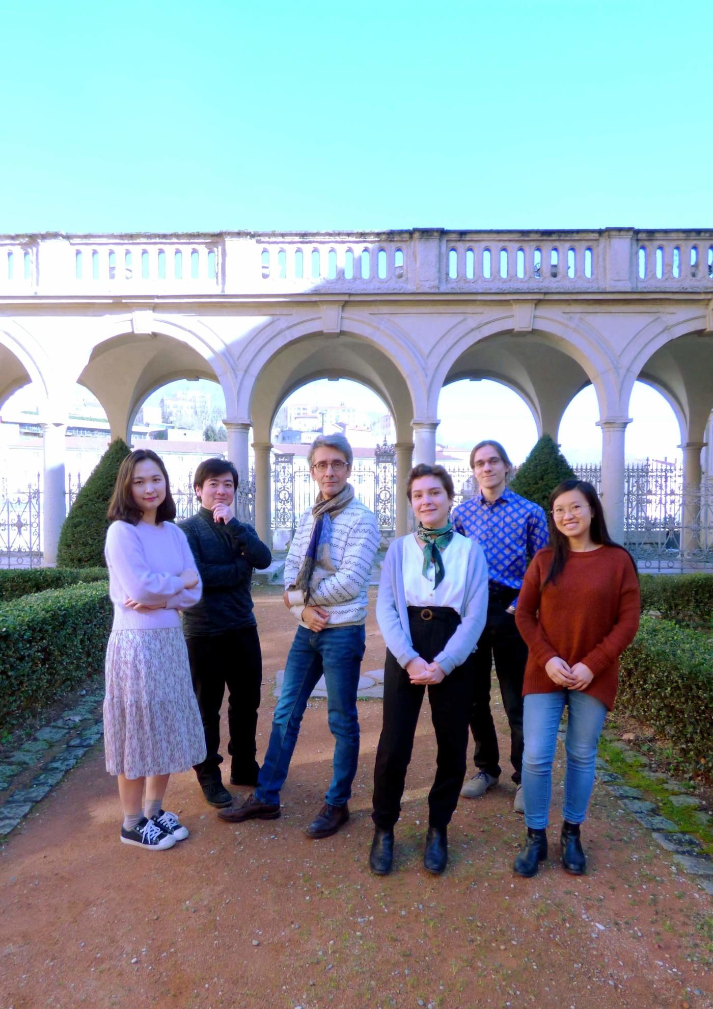 étudiants de Jérôme 1
